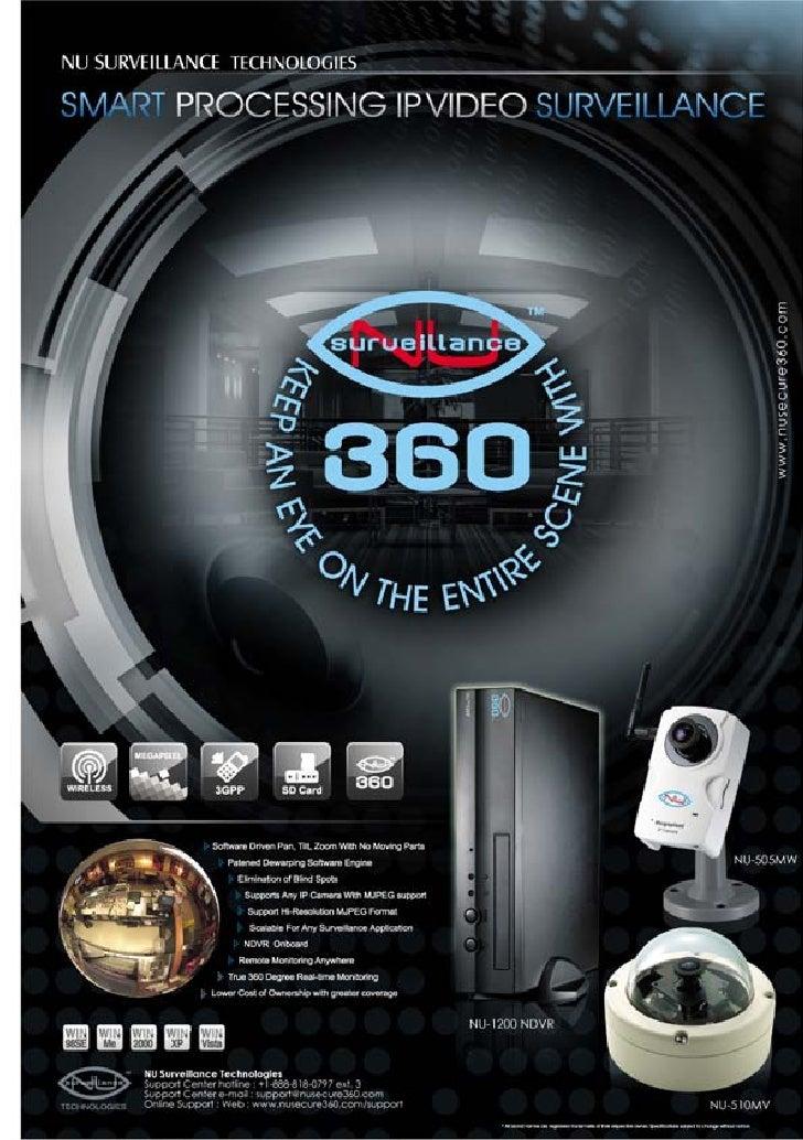 Product Datasheet Nu Surveillance 360