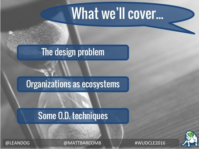 Product Design and Organization Design: Two sides of the same coin (1) Slide 3