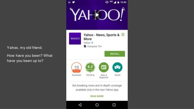 download yahoo app to my phone