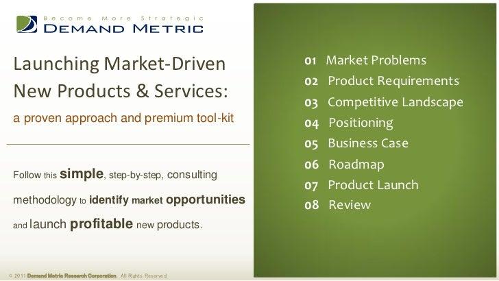 Launching Market-Driven                                          01 Market Problems                                       ...