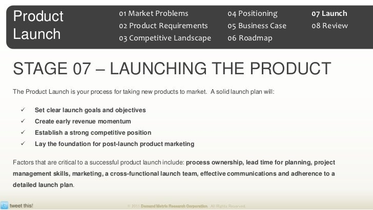Communication plan for your product launch