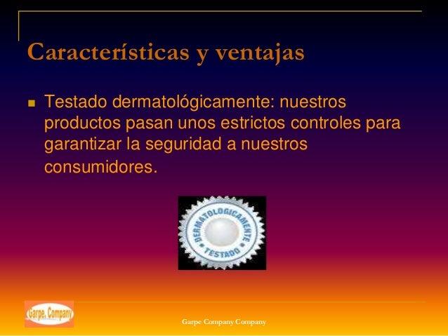 Características y ventajas   Testado dermatológicamente: nuestros    productos pasan unos estrictos controles para    gar...