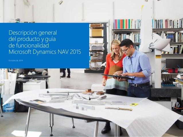 1 de 35 1 Microsoft Dynamics NAV 3 Paquete de funcionalidades de Microsoft Dynamics NAV 2015 2 Cómo comprar Microsoft Dyna...