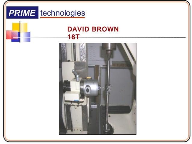 gear measuring machine