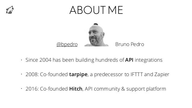 Product growth with an API Slide 2