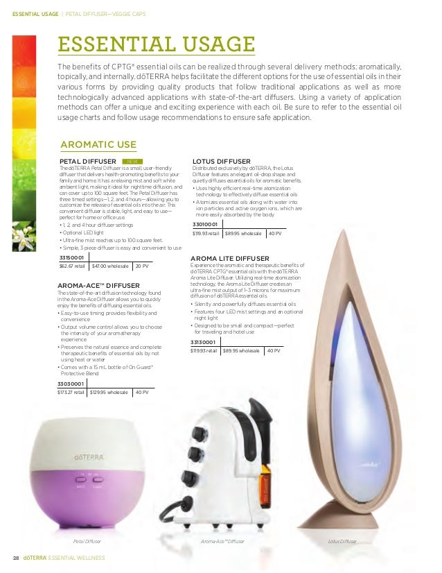 Doterra Product Guide 2014 English