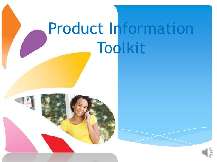 Product Information      Toolkit