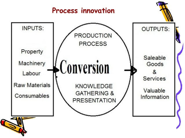 output in the innovation process Output metrics measure what your innovation process has produced, including  products or services ready to go to market and interim outputs such as a new.