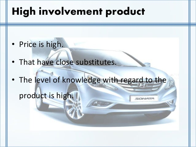 brand and high involvement products Brand management and marketing communications business to business marketing, capabilities and strategy retailing and services marketing  high-involvement products marketing dictionary high-involvement products products for which the buyer is prepared to spend considerable time and effort in searching.