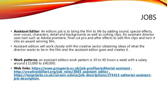 Video Editor Job Description Template Workable Bureau Of Labor