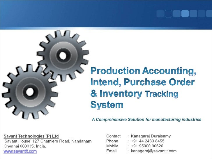 Order billing inventory system thesis