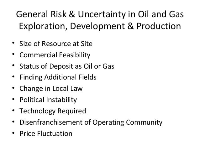 Production agreements oil service contracts joint ventures relationship leverage 14 general risk uncertainty in oil and gas platinumwayz