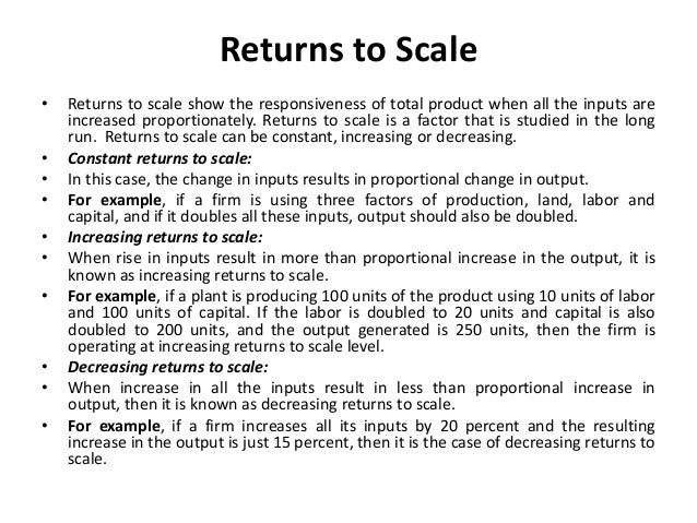 Diminishing Marginal Returns • There are two ways in which a firm can approach the optimal production function. First, a f...