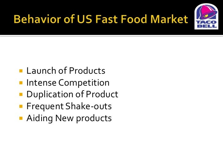 an overview of the fast food industry profit and product creation Over the last decade, fast food restaurants or more technically,  to mcdonald's  seems to be a much smaller figure, the revenue growth  but the products didn't  take off as per the company's expectations  from upgrading menu items to  creating on-the-go options, from remodeling the stores to creating.