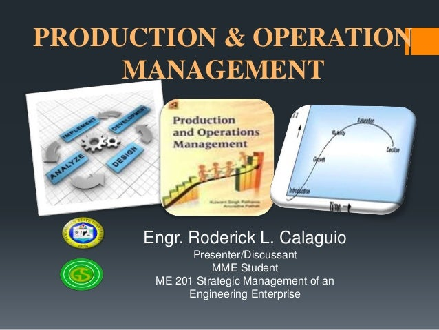 adl 14 production and operation management Production & operations management amity centre for elearning assignment program: semester subject name permanent enrollment number assignment a 1 discuss the changing philosophy of operations management what are the new trends in operations management.