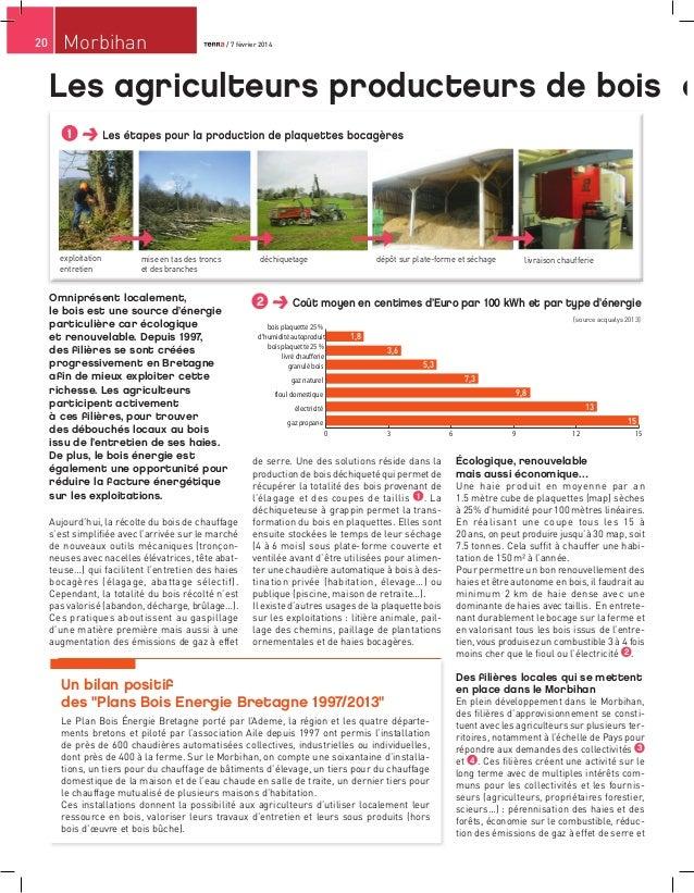 20  Morbihan  / 7 février 2014 / 7 février 2014  Les agriculteurs producteurs de bois é / 7 février 2014  1  exploitation ...
