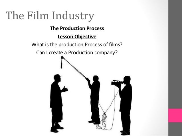 The Film IndustryThe Production ProcessLesson ObjectiveWhat is the production Process of films?Can I create a Production c...