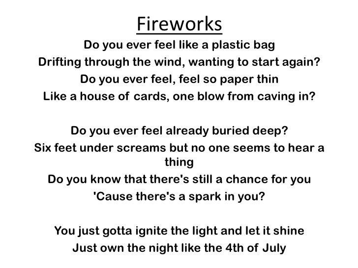 Production Lyrics 2011 B