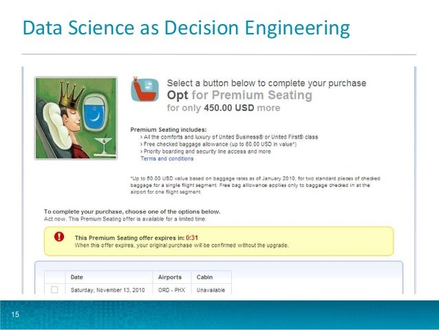 Data Science as Decision Engineering  15