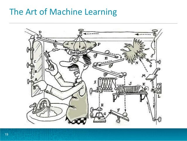 The Art of Machine Learning  19