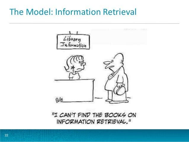 The Model: Information Retrieval  22