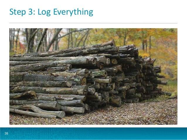 Step 3: Log Everything  26