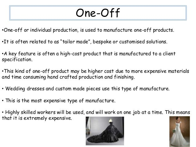 batch production, mass production, continuous production and one-off production essay Best answer: the difference between the two is that batch productions is a form of production that is applied to a large number of items all at once whilst mass production is the same but made one at a time from mass produced parts.