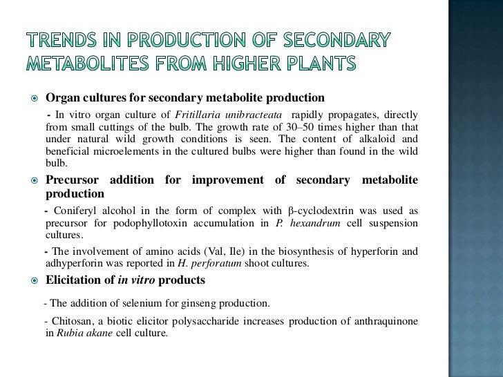 Production of anti tumor compounds by plant cell cultures