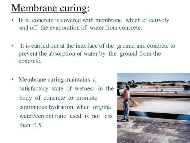 Production Of Concrete