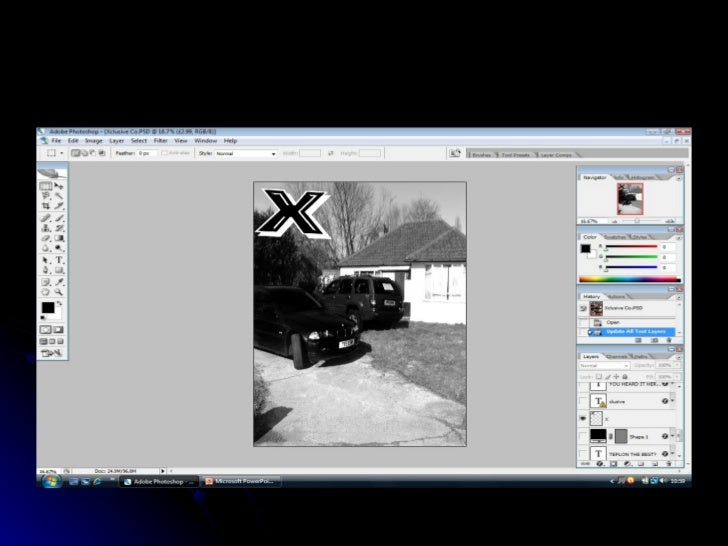 Production Of Front Cover Slide 3