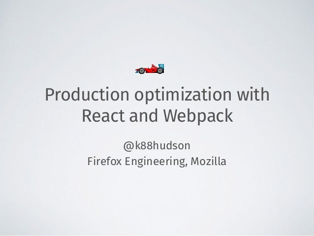 Production optimization with