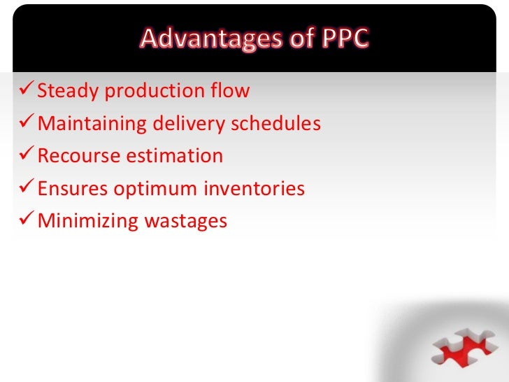 Production planning & control (ppc)
