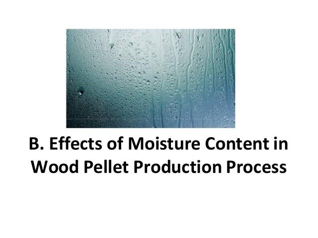 Production process wood pellet from biomass