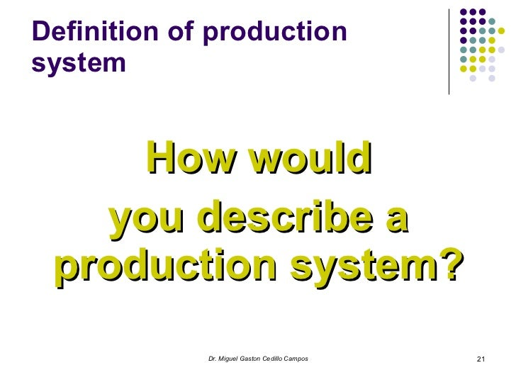 production systems Different types of garment production system are explained production systems like make through, and assembly line.