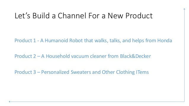 Product Issues In Distribution Channel Design Amp Management