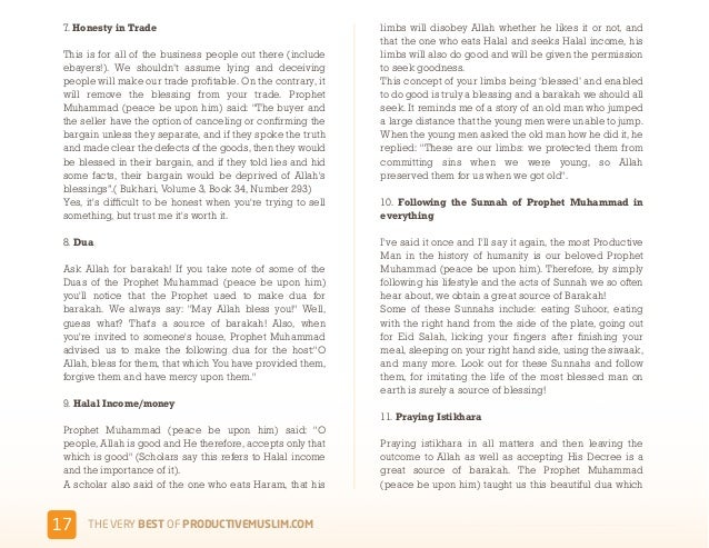 Productive muslim ebook 17 helps fandeluxe PDF