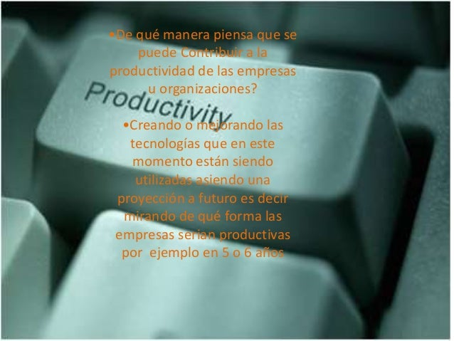 Productividad Slide 3