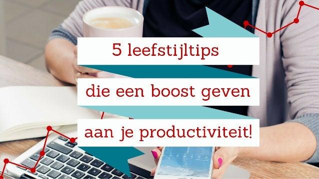 Productiviteit verhogen: focus op energie, niet op tijd De energie die je in je job steekt is veel belangrijker dan het aa...