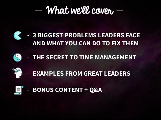 The Productivity Secret Of The Best Leaders Slide 3