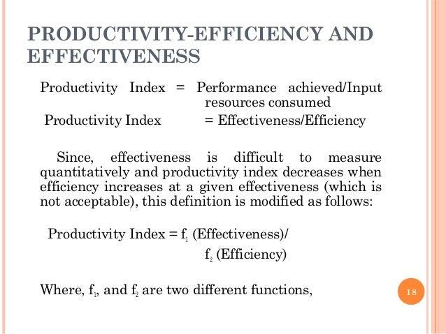 Productivity & work force unit 2