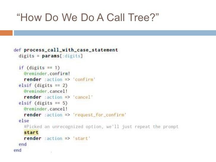"""""""How Do We Do A Call Tree?"""""""