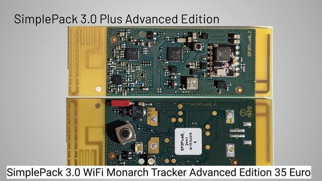 SimplePack 3.0 Plus Advanced Edition SimplePack 3.0 WiFi Monarch Tracker Advanced Edition 35 Euro