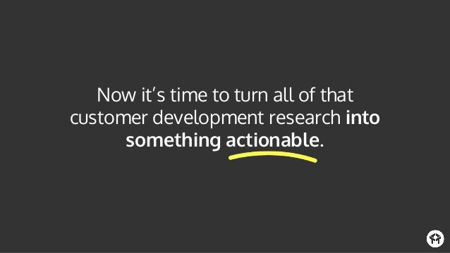Just focus on answering these three questions when it comes to your product: