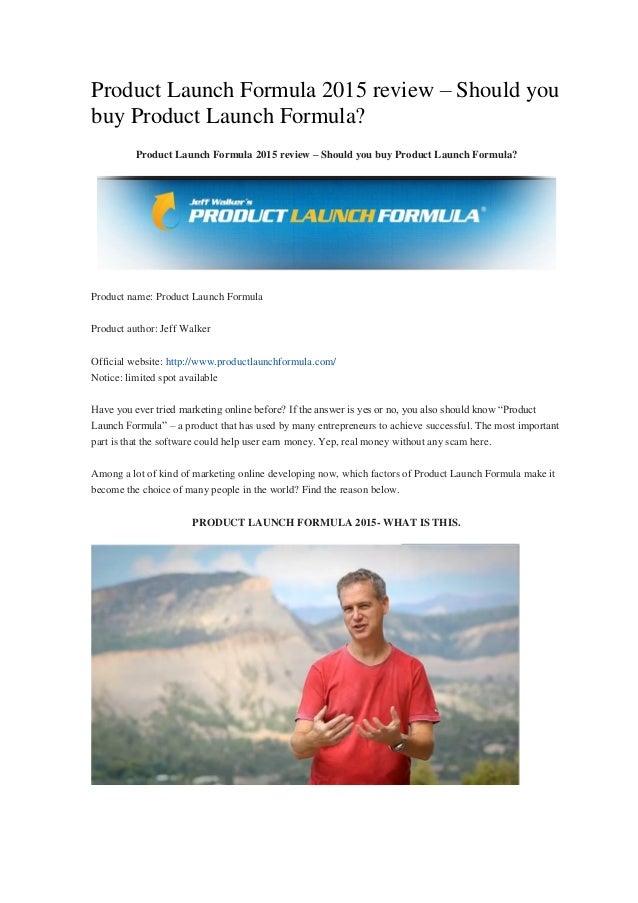 Product Launch Formula 2015 review – Should you buy Product Launch Formula? Product Launch Formula 2015 review – Should yo...