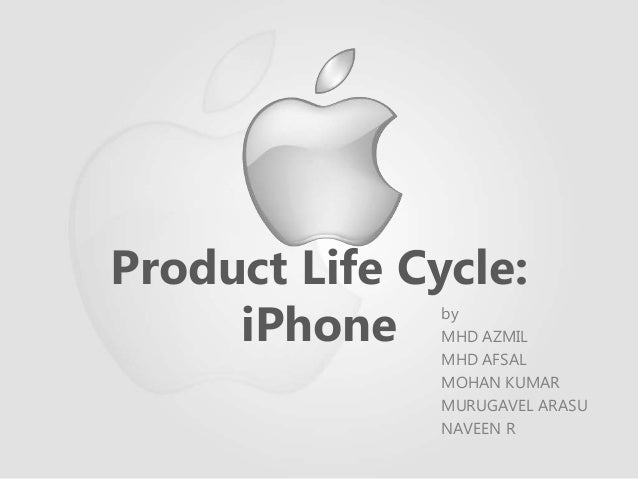 Product life cycle of apple iphone 3g