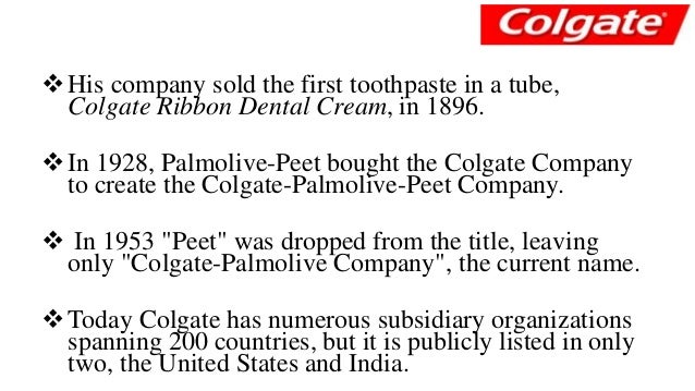 stage of product life cycle colgate palmolive The volumes are instruction manuals which indicates the essential elements of the tactical & strategic report on colgate- palmolive pakistan in relation to the attached dvd tables and spreadsheets version / edition 16 (and later) of this product contains.