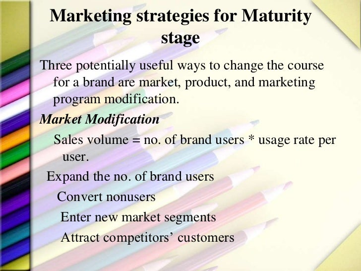 product life cycle and marketing strategies pdf
