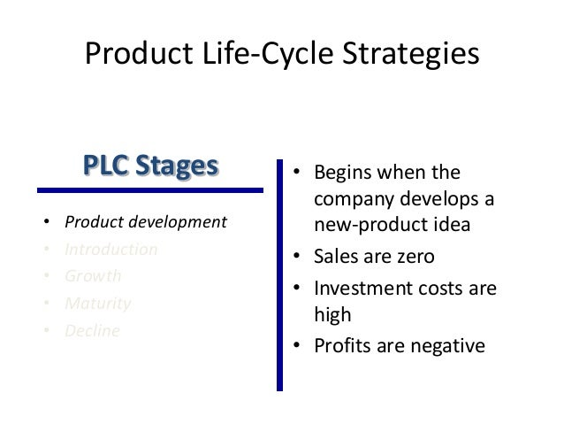 how a firms pricing policy relate to the products life cycle Product life cycleproduct life cycle is the course of a product's sales and profits over timeproduct life cycle(plc) deals with the life of a product in the market with respect to business or commercial costs and sales measuresthe five stages of each product lifecycle are product development, introduction, growth, maturity and decline.