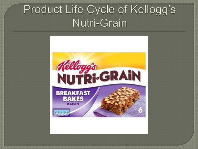 product life cycle of nutri grain essay An individual's needs for nutrients and energy change over the life span   teething crackers and other foods such as toast, or dry, unsweetened cereal are  good  and combination foods that include milk and/or other dairy products, such  as.