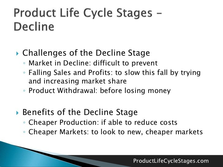 stages of product life cycle The product life cycle has 4 very clearly defined stages, each with its own characteristics that mean different things for business that are trying to manage the life cycle of their particular products introduction stage - this stage of the cycle could be the most expensive for a company.